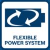 電池100%與其電壓等級內的所有工具相容 選擇XL電池將運轉時間延至最長,或選擇小巧型電池以便操作