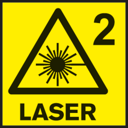 雷射級別2 測量工具的雷射級別。