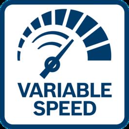 簡單和精確的RPM控制 可變的轉速