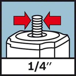 """螺紋固定座1/4吋 1/4""""三腳架螺紋"""