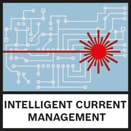 智慧型電流管理 智慧型電流管理有助監控雷射二極體溫度,並有效提升雷射能見度而不會過熱
