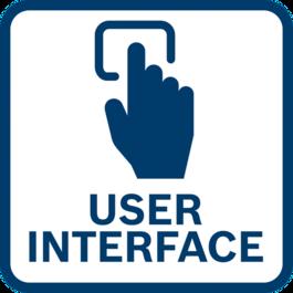 直接工具回饋和設定調整 採用整合式使用者介面和連接功能。
