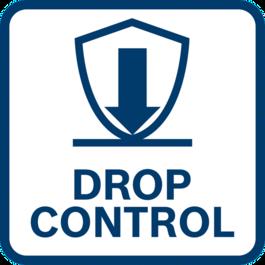 增強的使用者保護 由於Drop Control功能,工具在意外掉落時會自動關閉