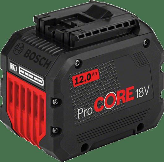 紙板箱內包含1顆12.0 Ah ProCORE18V鋰離子電池